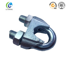 Din741 wire rope clip with galvanized