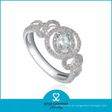 Atacado 2014 925 anel de prata esterlina para as mulheres (R-0026)