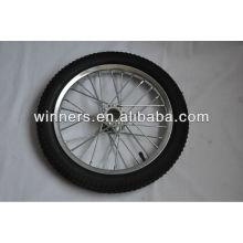 "rueda de bicicleta de acero 16 """