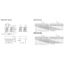 0.54inch 2 Digit 7 Segment Display (GNS-5421Ax-Bx)