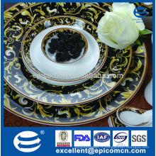 Ensemble de dîner royal en porcelaine pour le Pakistan