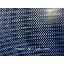 100% poliéster malla hexagonal tela de red mosquitera