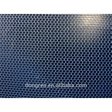 100% полиэфирная шестиугольная сетчатая сетчатая сетчатая ткань