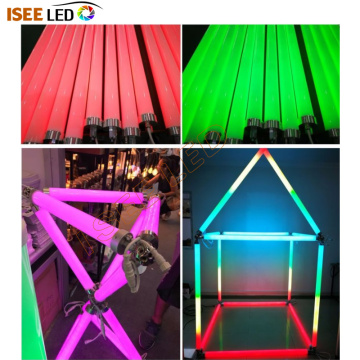 Tube suspendu 3d LED RGB compatible DMX compatible Madrix