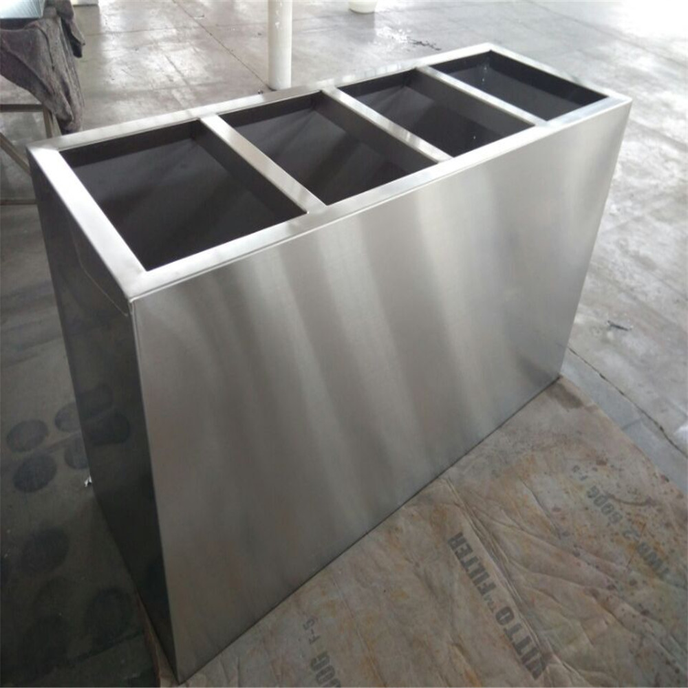 Pot Bunga Stainless Outdoor