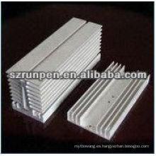 Perfiles del disipador de calor de extrusión de aluminio