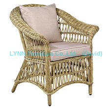 Amerikanischer Moderner Outdoor Stuhl PE Rattan Stuhl Paio Sessel