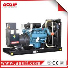 1 an ou 1000 heures de fonctionnement générateur vert 650kva avec moteur Doosan