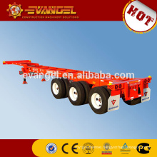 High Quality 40ton container 9402TP 40ft flatbed container semi trailer