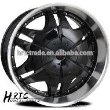 HRTC Chrom Lip ,Chrome Center forged alloy wheel