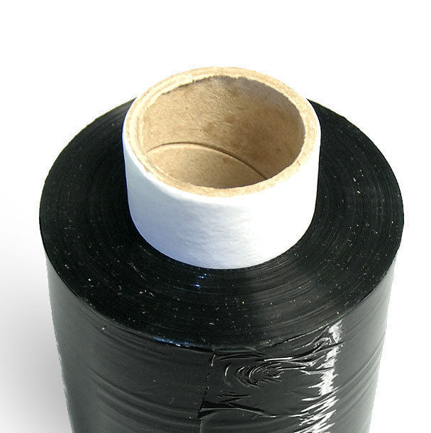 black stretch film