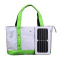 2017 China manufacuturer 5W single shoulder solar panel carry charger bag