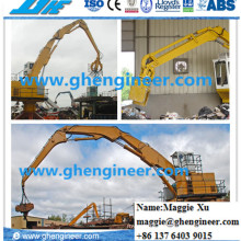 Bulk Cargo Garbage Steel Scrap Grab Machine