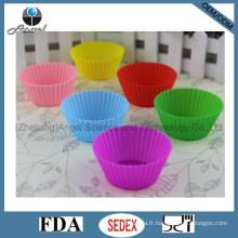 Outil de cuisson à petite taille Silicone Cupcake Moule Sc01 (S)