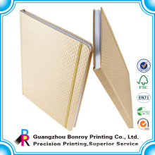 Eco hardcover Notebook with natural color paper