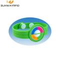 Soft PVC 125Khz RFID Wristband for theme Park