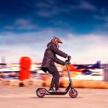 Scooter elétrico fora da estrada com rodas de 10 polegadas para passageiros