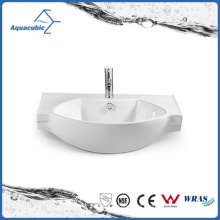 Ceramic Cabinet Basin and Vanity Top Hand Washing Sink (ACB2187)
