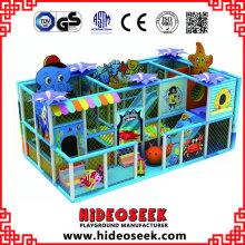 Ocean Theme Small Naugthy Castle para niños