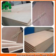 Contreplaqué / contreplaqué de meubles / contreplaqué d'emballage / contreplaqué de construction