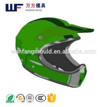 OEM Custom plastic injection mould for Full face Motorcycle helmet/OEM plastic injection Mold for Full face Motorcycle helmet