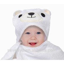 High quality 100% baby towel organic bear baby Hooded towel Boys & Girls premium baby bath towel