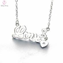 Cadena popular creativa del collar de la plata esterlina 925 de la manera 2017 para la muchacha
