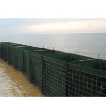 Fabricación de barreras de inundación soldadas galvanizadas de Hesco
