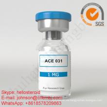 Péptido en polvo liofilizado Acvr2b / Ace031 / Ace-031 1 mg / vial para la ganancia muscular
