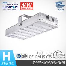Venda quente 240W LED High Bay com DLC CE SAA