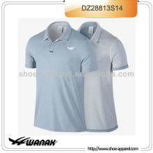 Custom look reversible tennis polo shirts men wholesale