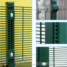 Welded Wire Mesh 358 High Security Fence 4x4 Welded Wire Mesh Fence (ISO9001 and BV)