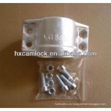 Abrazadera de seguridad de aluminio DIN2817