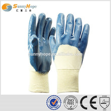 SUNNYHOPE industrial nitrile coated safety gloves