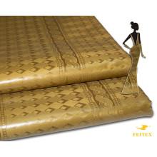 10 ярды сияющий Германия Качество Базен riche ткань Жаккард Гвинея парчи ткань 100% хлопок духи Shadda