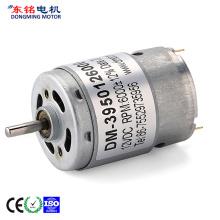 Elektrik berus mikro motor dc