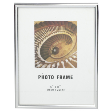 Silver Classical 6x8inch Pvc Photo Frame