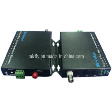 1 CH 1080P Resolución Ahd & Cvi & Tvi Video Fiber Transmission Manufacturer