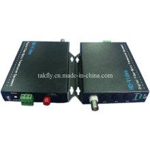 1 CH 1080P Resolution Ahd & Cvi & Tvi Transmissor De Fibra De Vídeo Fabricante