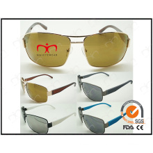 Handsome Metal Sunglasses with Square Frame (40379)