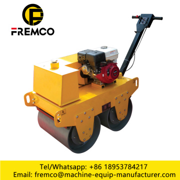 Manual Road Roller Double Drum