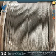 AISI Standard 316 Cordon en acier inoxydable 7X19