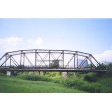 Pont en treillis structurel en acier préfabriqué