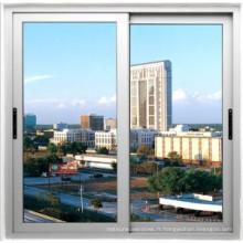 Fenêtre coulissante en alliage d'aluminium avec la meilleure qualité