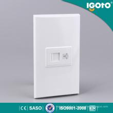 Igoto Nom 1gang 4 connecteurs de téléphone de base pour la maison