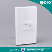 Igoto Nom 1gang 4 Core Telephone Socket Use for Home