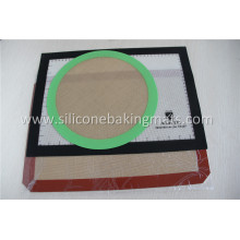 Top for Non Stick Silicone Baking Mat 8 Inch Non-Stick Silicone Round Baking Mat supply to French Guiana Supplier