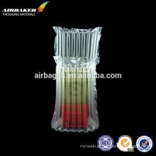 Materiais de embalagem protectora moda inflável ar coluna saco