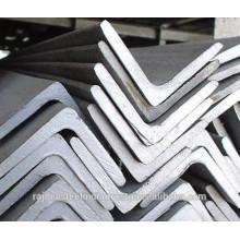 Barra hueca de acero suave / barra angular de acero con agujero
