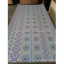 Mobiliário e decoração melamina papel sobreposto contraplacado